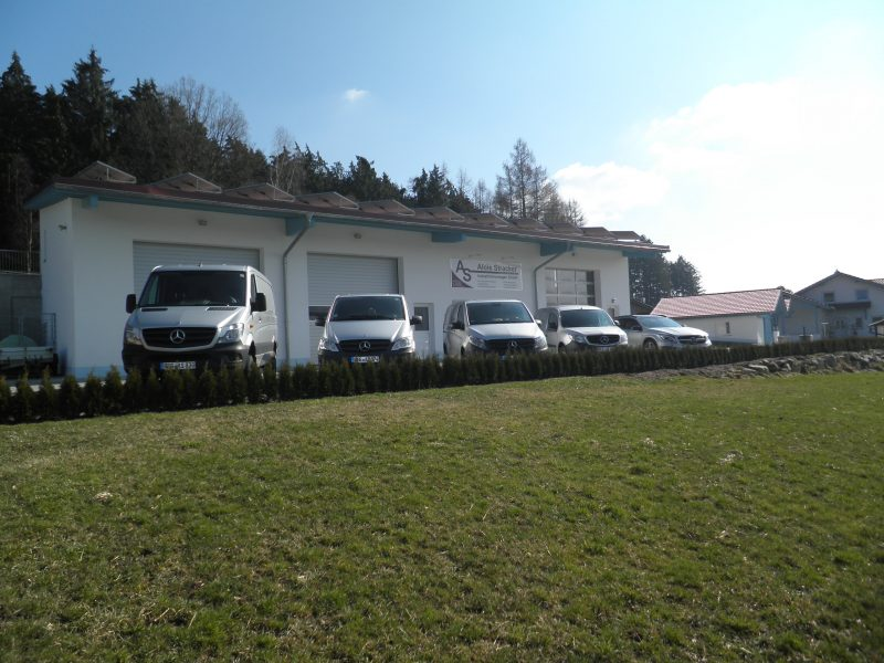 Firmensitz in Ruhmannsfelden, Niederbayern