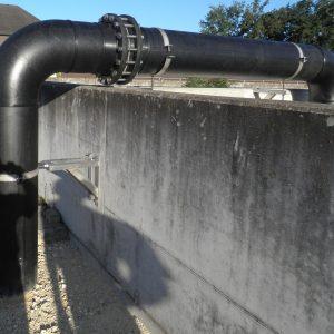 Rohrleitungsbau bis Durchmesser 800, Platten- und Rohrzuschnitte aus Kunststoff, Rohrleitungsbau bis Durchmesser 500 mm (Heizelementschweißen), Heizelementschweißen von Platten und Rohren